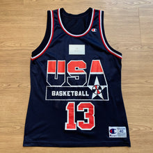 Load image into Gallery viewer, Shaquille O'Neal Team USA Champion Jersey