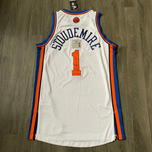 Amar'e Stoudamire New York Knicks Autographed Authentic Rev30 Adidas Jersey