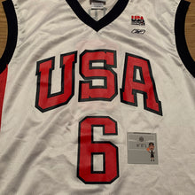 Load image into Gallery viewer, Larry Bird Team USA Reebok Jersey