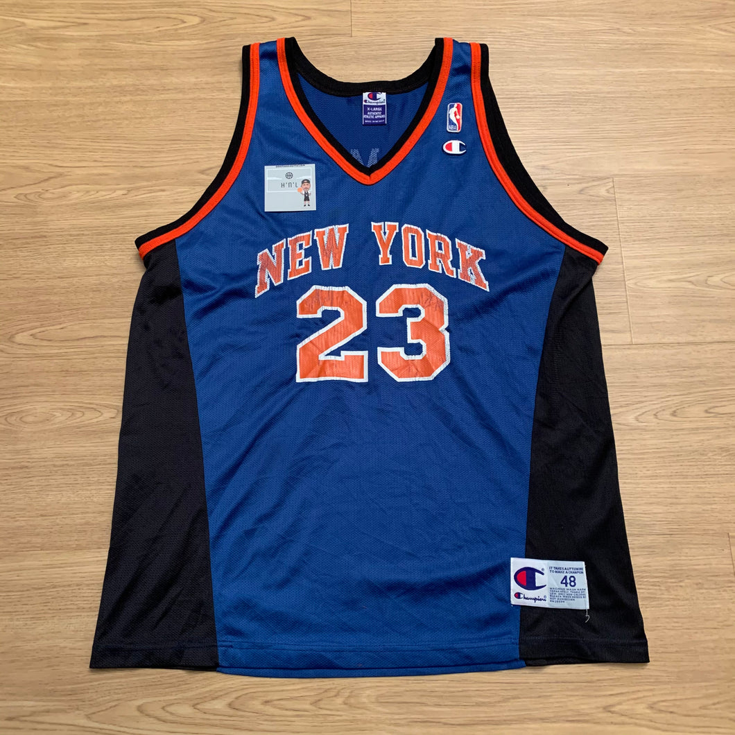Marcus Camby New York Knicks Champion Jersey