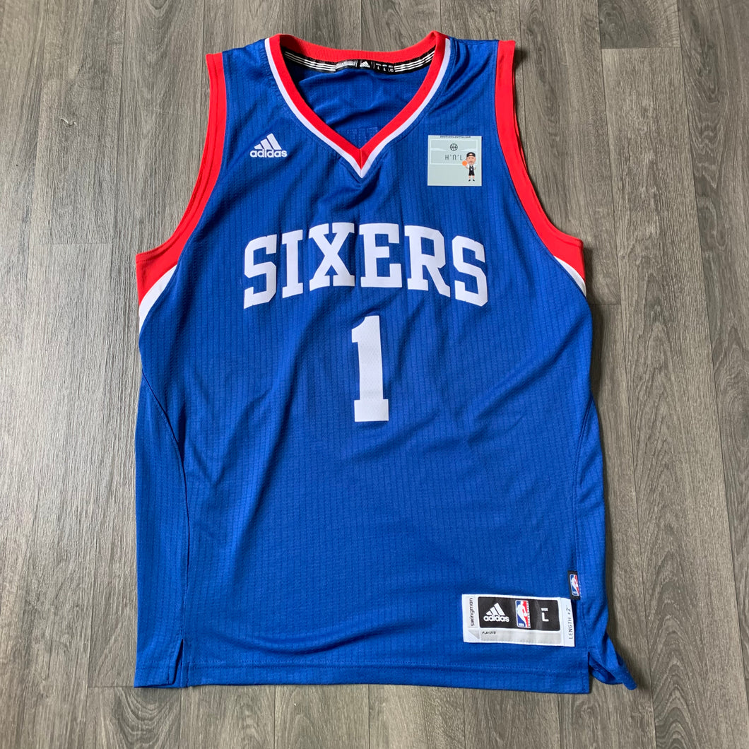 Michael Carter-Williams Philadelphia 76ers Adidas Jersey