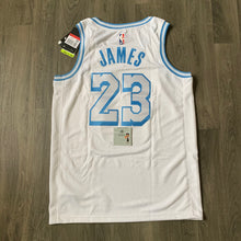 Load image into Gallery viewer, LeBron James LA Lakers Nike Jersey