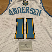 Load image into Gallery viewer, Chris Andersen Denver Nuggets Adidas Jersey