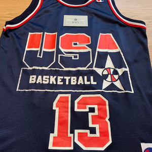 Shaquille O'Neal Team USA Champion Jersey