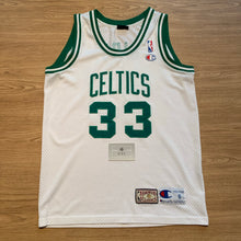 Load image into Gallery viewer, Larry Bird Boston Celtics HWC Champion Jersey