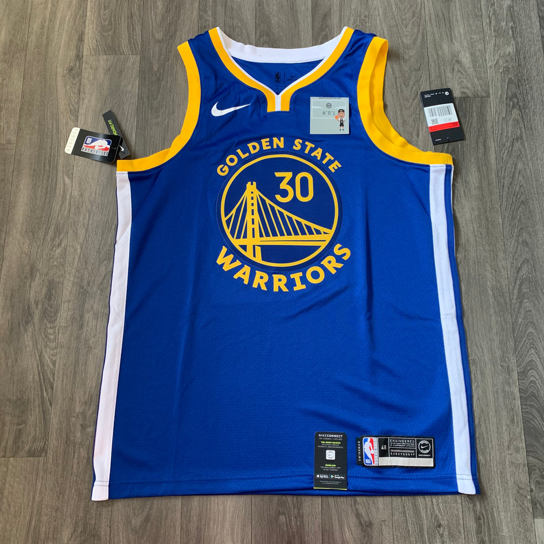 Steph Curry Golden State Warriors Nike Jersey
