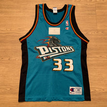 Load image into Gallery viewer, Grant Hill Detroit Pistons Champion Jersey