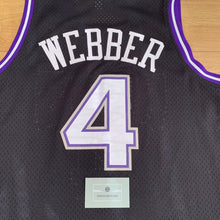 Load image into Gallery viewer, Chris Webber Sacramento Kings HWC Adidas Jersey
