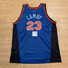 Load image into Gallery viewer, Marcus Camby New York Knicks Champion Jersey