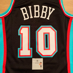 Mike Bibby Vancouver Grizzlies Mitchell & Ness Jersey