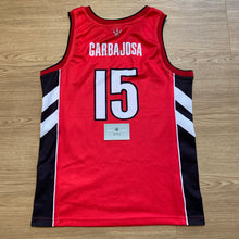 Load image into Gallery viewer, Jorge Garbajosa Toronto Raptors Champion Jersey