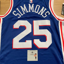 Load image into Gallery viewer, Ben Simmons Philadelphia 76ers Nike Jersey