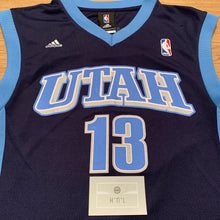 Load image into Gallery viewer, Mehmut Okur Utah Jazz Adidas Jersey