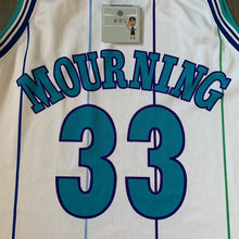 Load image into Gallery viewer, Alonzo Mourning Charlotte Hornets Champion Jersey