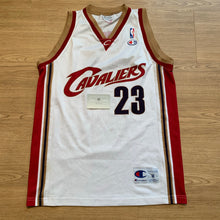 Load image into Gallery viewer, LeBron James Cleveland Cavaliers Champion Jersey