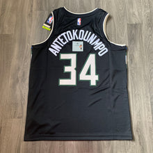 Load image into Gallery viewer, Giannis Antetokounmpo Milwaukee Bucks Nike Jersey