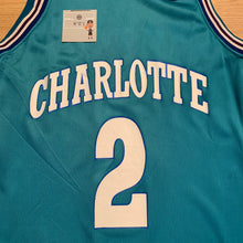 Load image into Gallery viewer, Larry Johnson Charlotte Hornets Champion Jersey