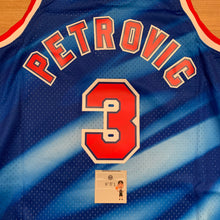 Load image into Gallery viewer, Drazen Petrovic New Jersey Nets Mitchell & Ness Jersey