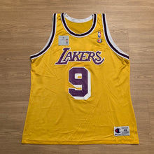 Load image into Gallery viewer, Nick Van Exel LA Lakers Champion Jersey