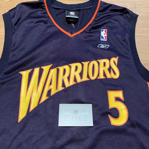 Baron Davis Golden State Warriors Reebok Jersey