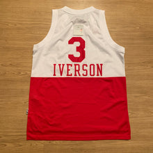 Load image into Gallery viewer, Allen Iverson Philadelphia 76ers HWC Adidas Jersey