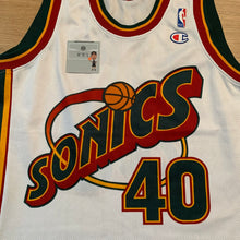 Load image into Gallery viewer, Shawn Kemp Seattle Super Sonics Champion Jersey