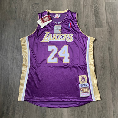 Kobe Bryant LA Lakers Hall of Fame Authentic Mitchell & Ness Jersey