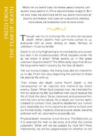 Free Gospel Tract Downloads to Share - Freed from the fear of death - Money Solutions Online