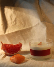 Load image into Gallery viewer, rosemary, clove and grapefruit soy massage candle