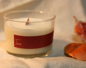 rosemary, clove and grapefruit soy massage candle