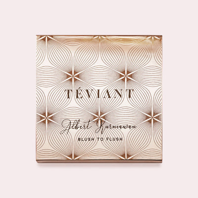 ROSETTE BLUSH TO FLUSH PALETTE - Teviant Beauty