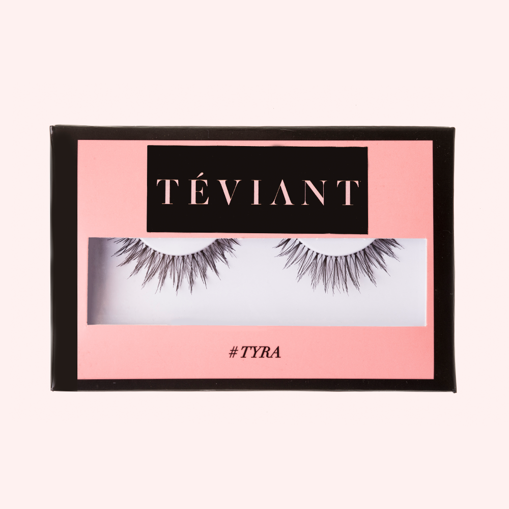 TYRA FALSE EYELASHES - Teviant Beauty