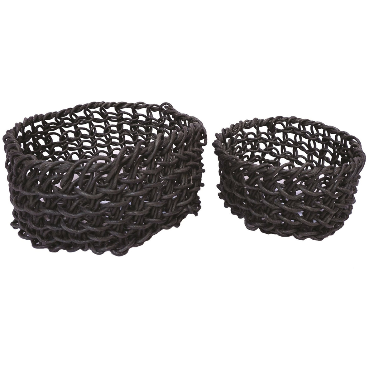 Small Black Folding Basket