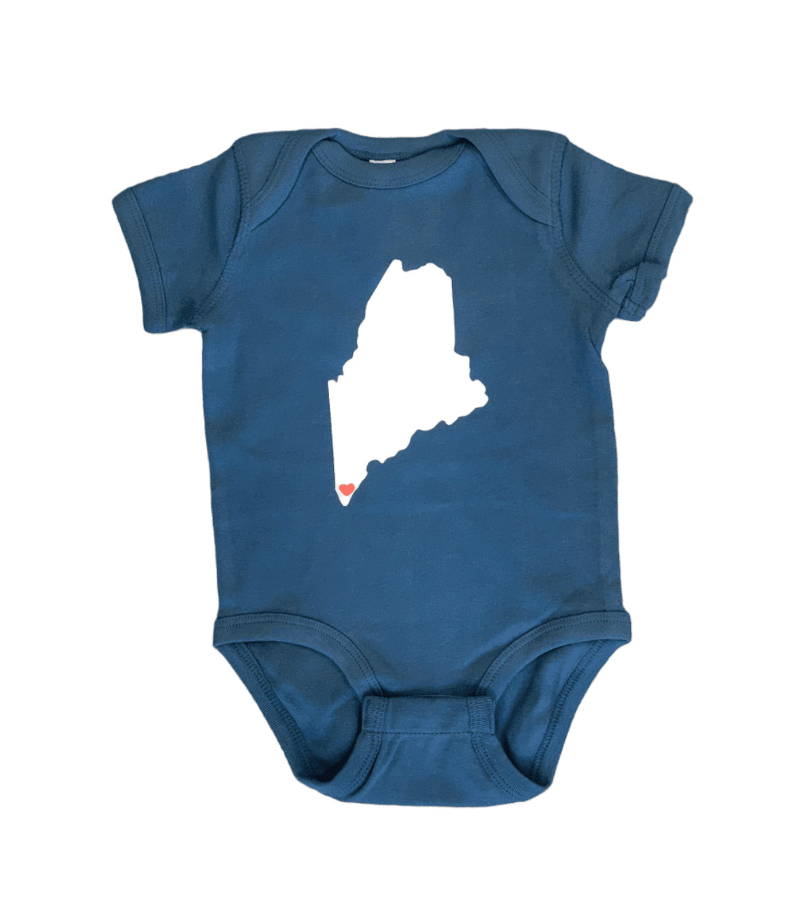 Blue Maine Onesie