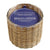 beach wood 2 wick handwoven candle 12 oz