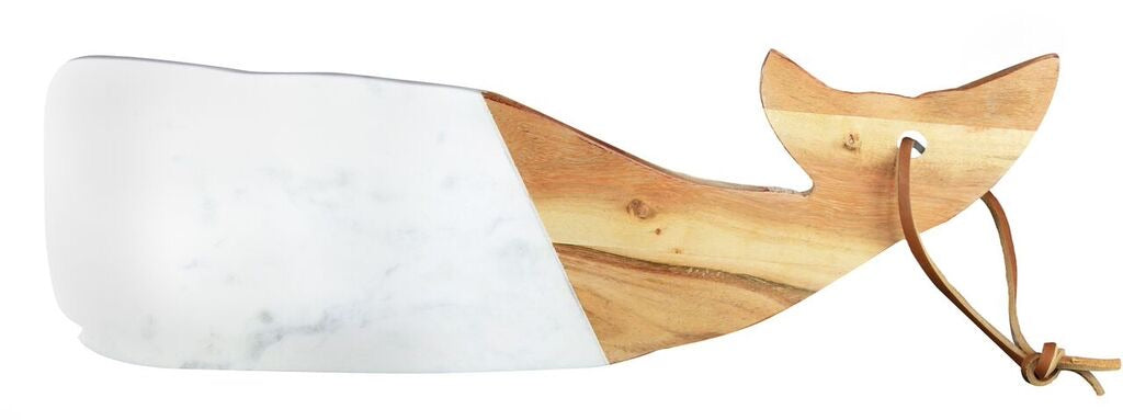 Marble & Wood Whale Board