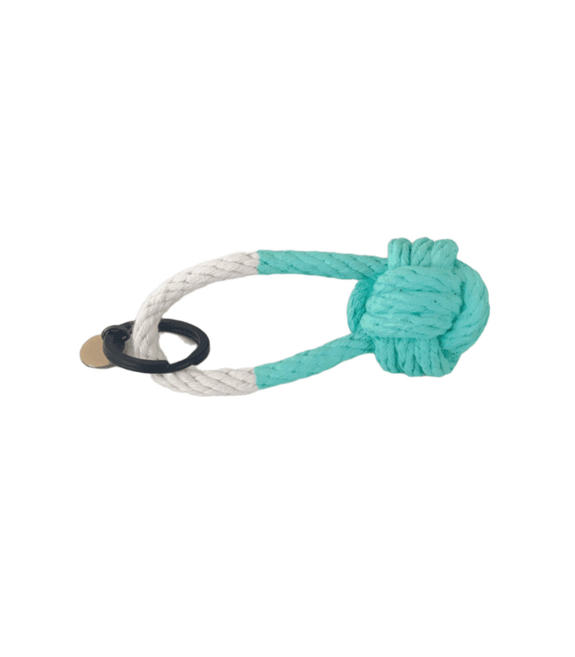 Knot Keychain Turquoise
