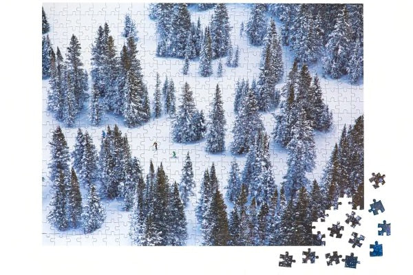 The Snow Two Sided Puzzle
