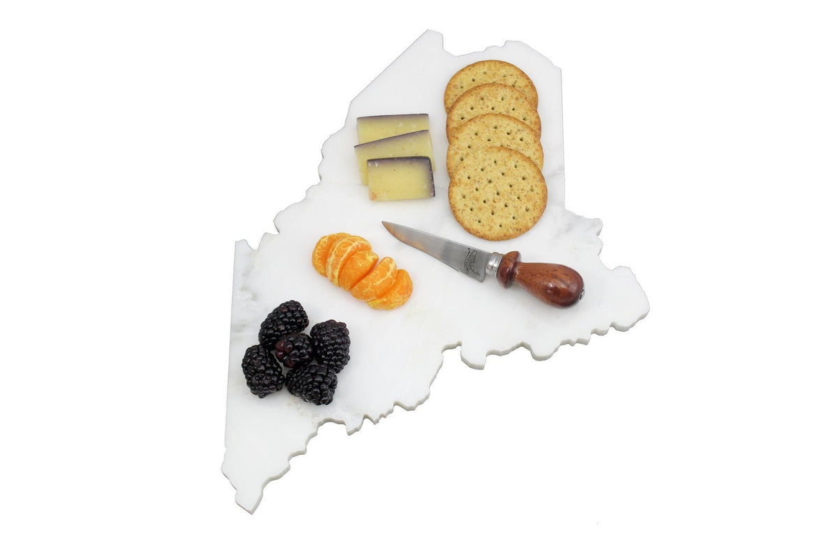 Marble State of Maine Serving Board
