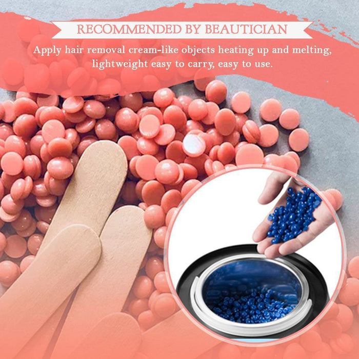 Hair Removal Wax Warmer + Free Gift Wax Beads 100g