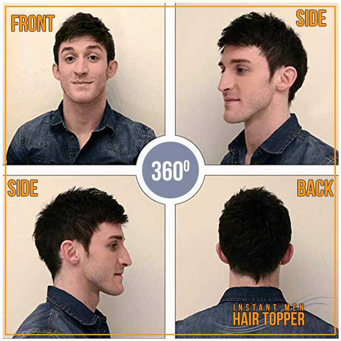 Instant Men Hair Topper