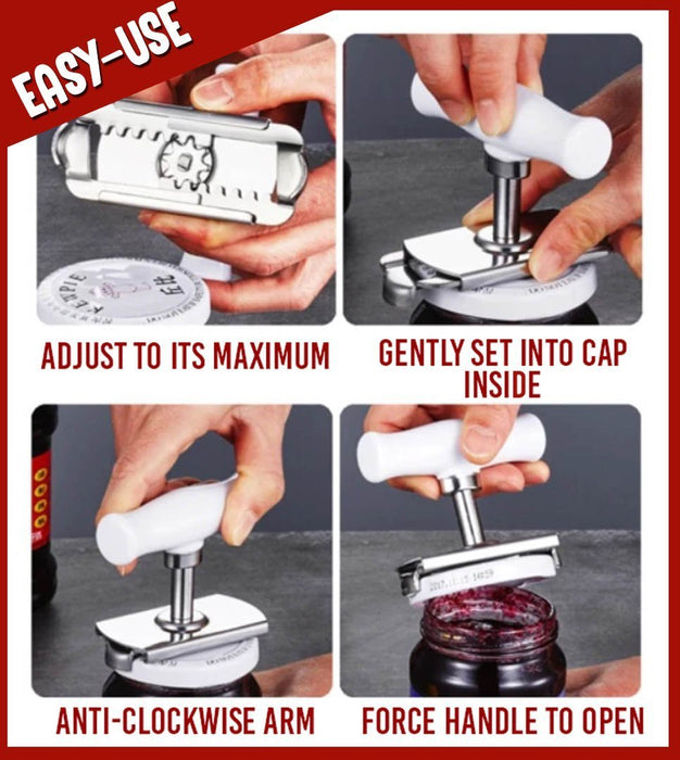 Adjustable Cap Opener