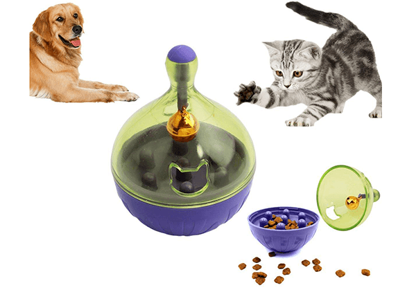 Interactive Food Tumbler for Dog & Cat