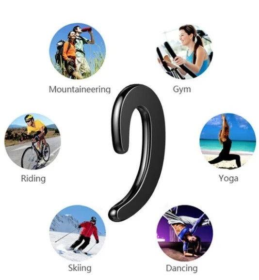 K8 Bone Conduction Earhook Wireless Bluetooth Waterproof Earphone