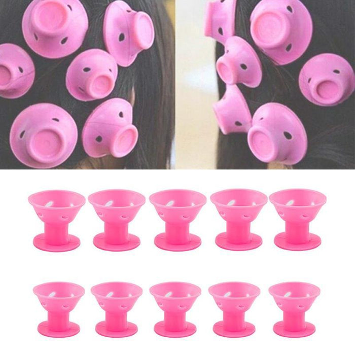Roll Hair Style Roller Curler ( 10 Piece )