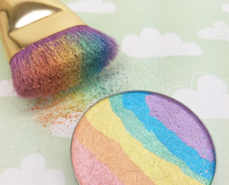 Mineral Rainbow Highlighter Powder Palette