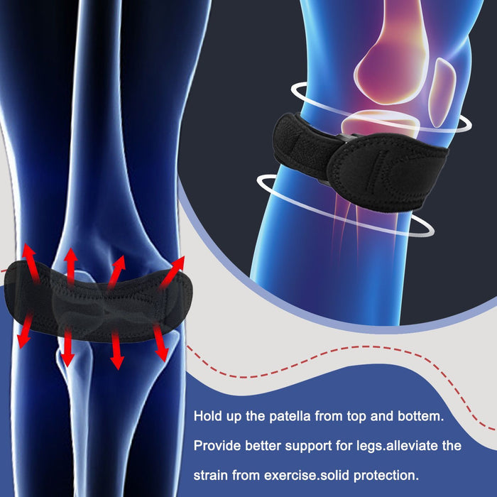 The Adjustable Patella Knee Tendon Support