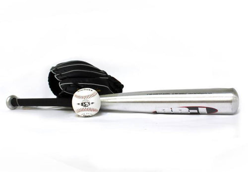 "BGBA-1 Initiation baseball set, senior - Ball, Glove, Aluminum bat (BB-1 32"", JL-120 12"", TS-1 9"")"