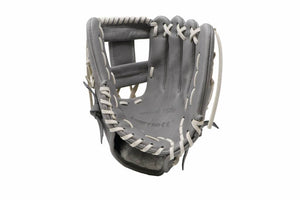 FL-115 baseball glove, high quality, leather, infield/outfield 11, light gray
