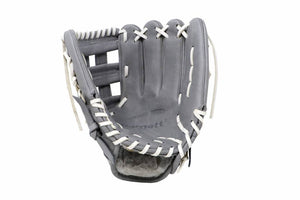 FL-117 high quality baseball and softball glove, leather, infield / fastpitch 11.7, light grey
